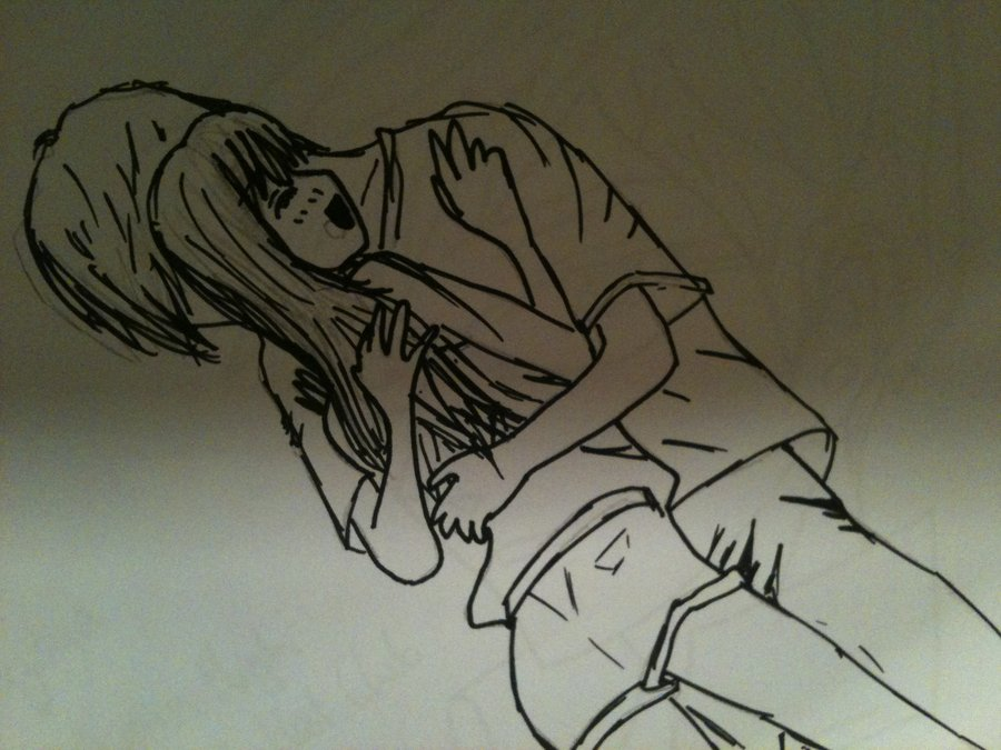 900x675 Anime Hug