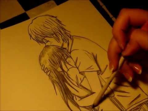 480x360 Drawing Hugging