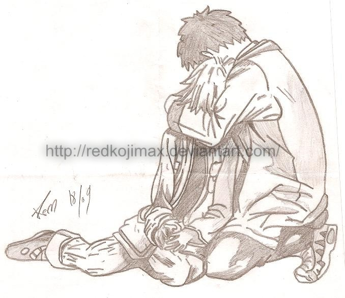 678x587 Sad Hug By Redkojimax