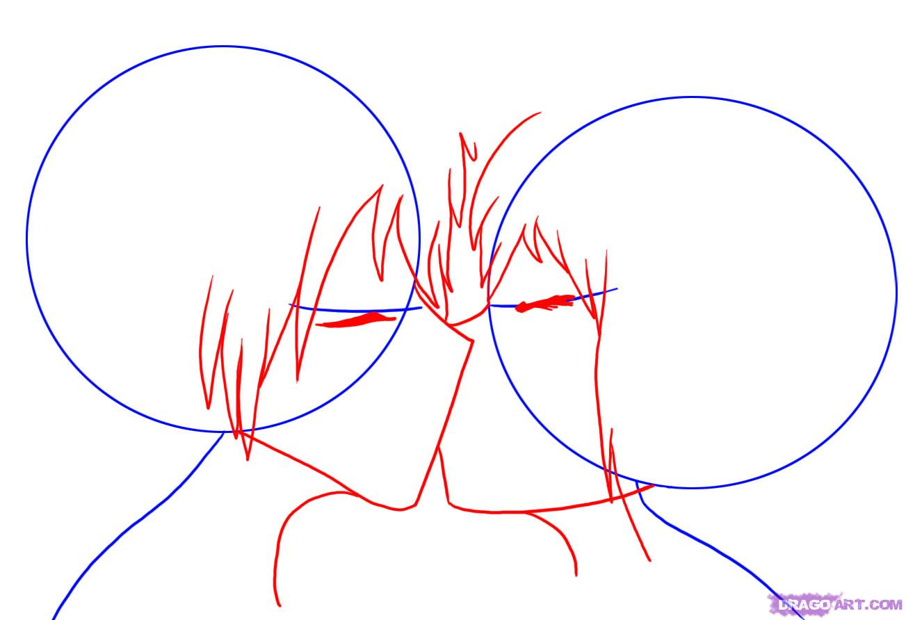 1303x892 Anime Kiss Sketch Tutorial Best Kissing Drawing Ideas