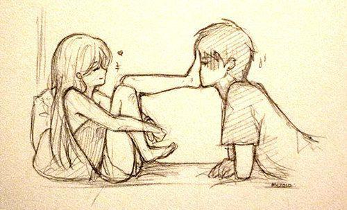 500x303 Cute Love Drawings Images Anime Love Cute Anime Love Anime