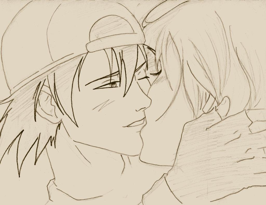 1024x788 Love Anime Drawings Pencil Drawings Of Love Anime Anime Love