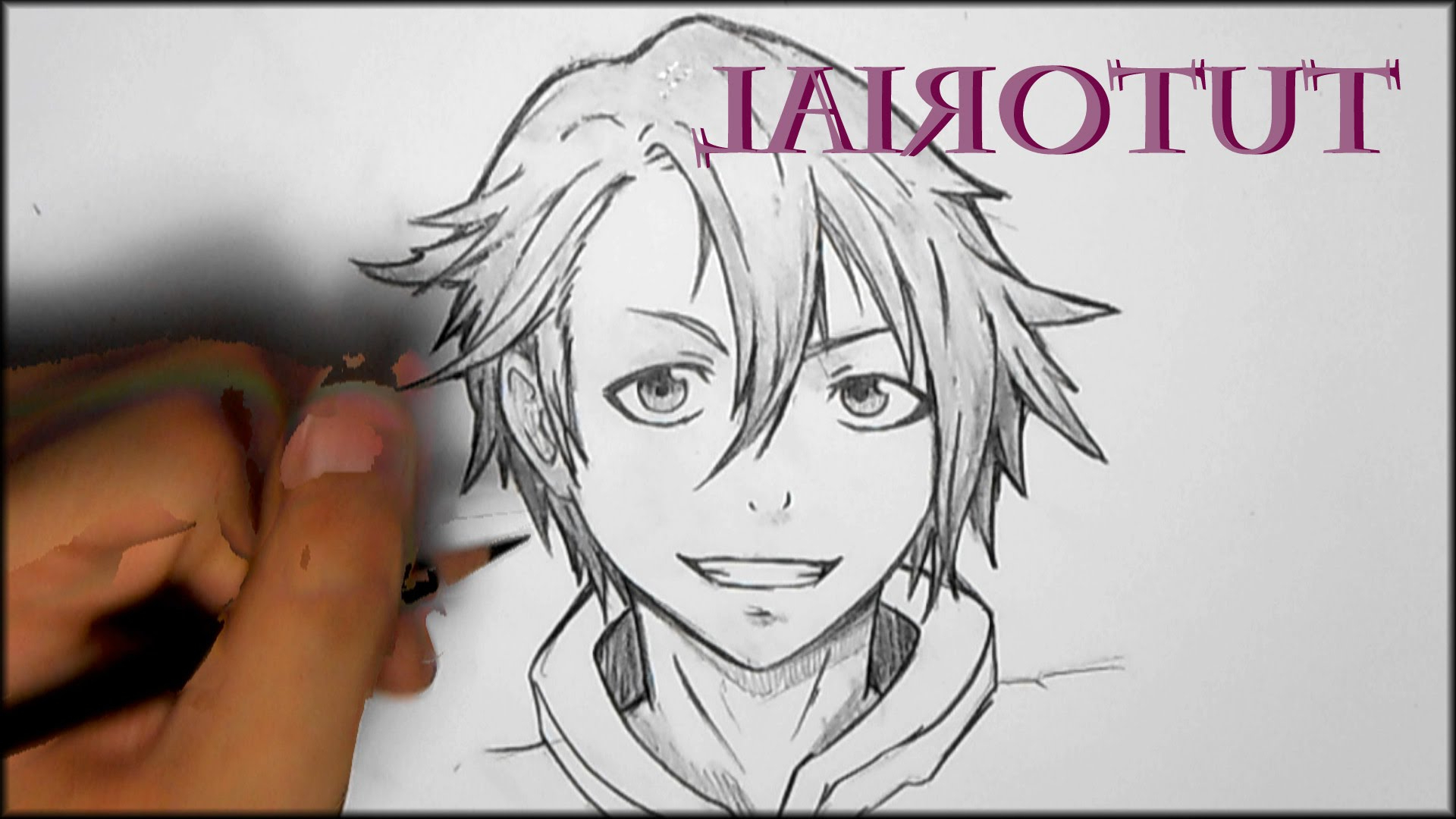 1920x1080 Drawing Anime Boy For Beginners How To Draw Manga