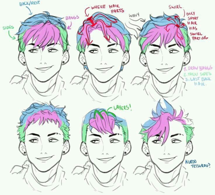 736x666 Hairstyle Draw, Drawing Reference And Art