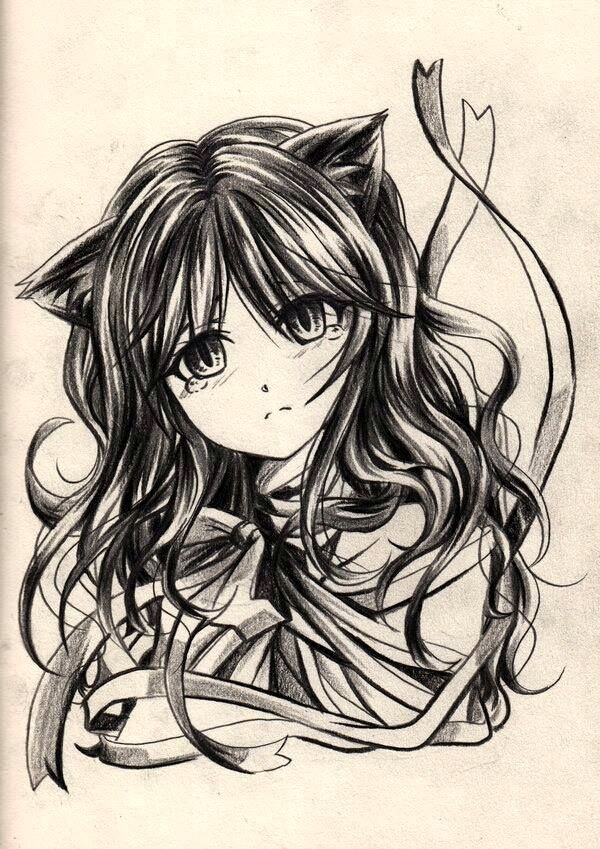 600x849 40 amazing anime drawings and manga faces