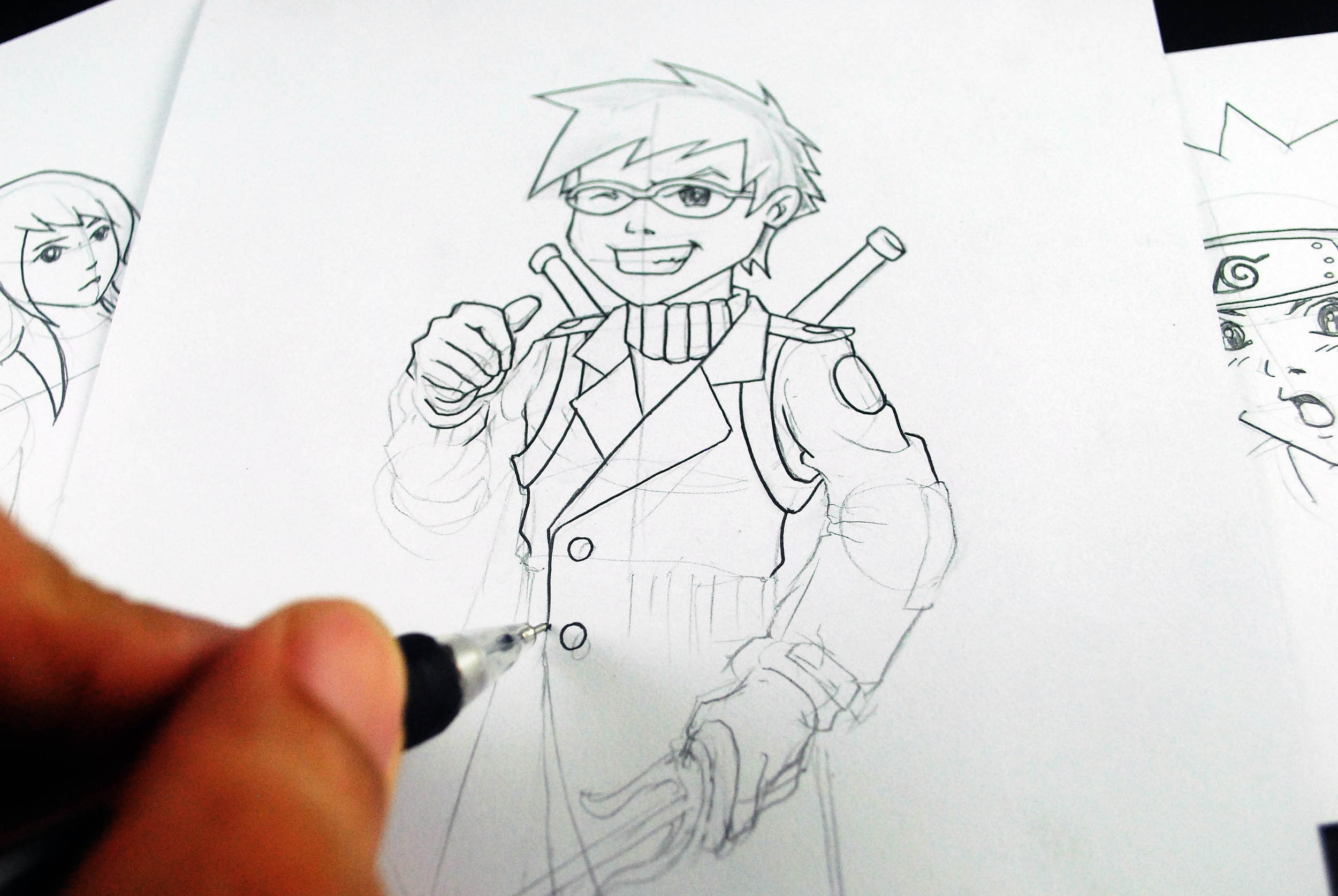 2500x1674 How To Learn To Draw Manga And Develop Your Own Style 5 Steps