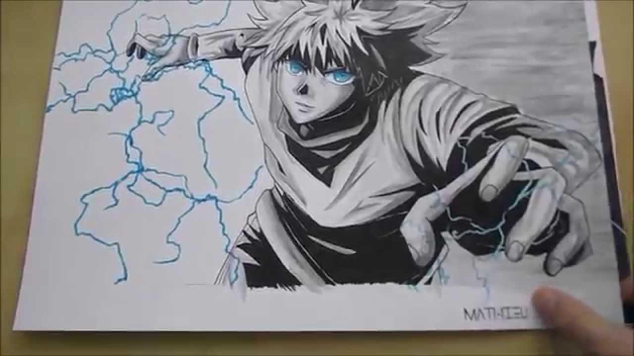 1280x720 My Animemanga Drawing Of 2014 Mes Dessins De Animemanga De