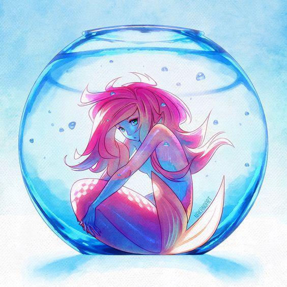 564x564 Pin By Cas Wayrest On Anime Mermaid, Anime And Merfolk