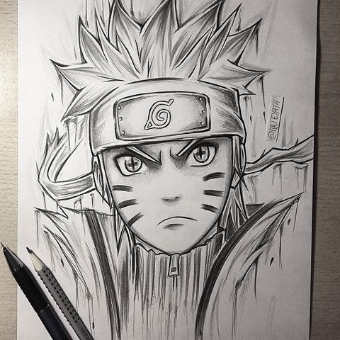 Best Anime Naruto 3D Pencil