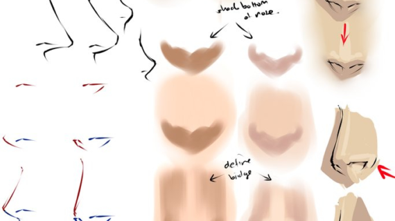 570x320 anime nose drawing how to draw noses and mouths †manga university