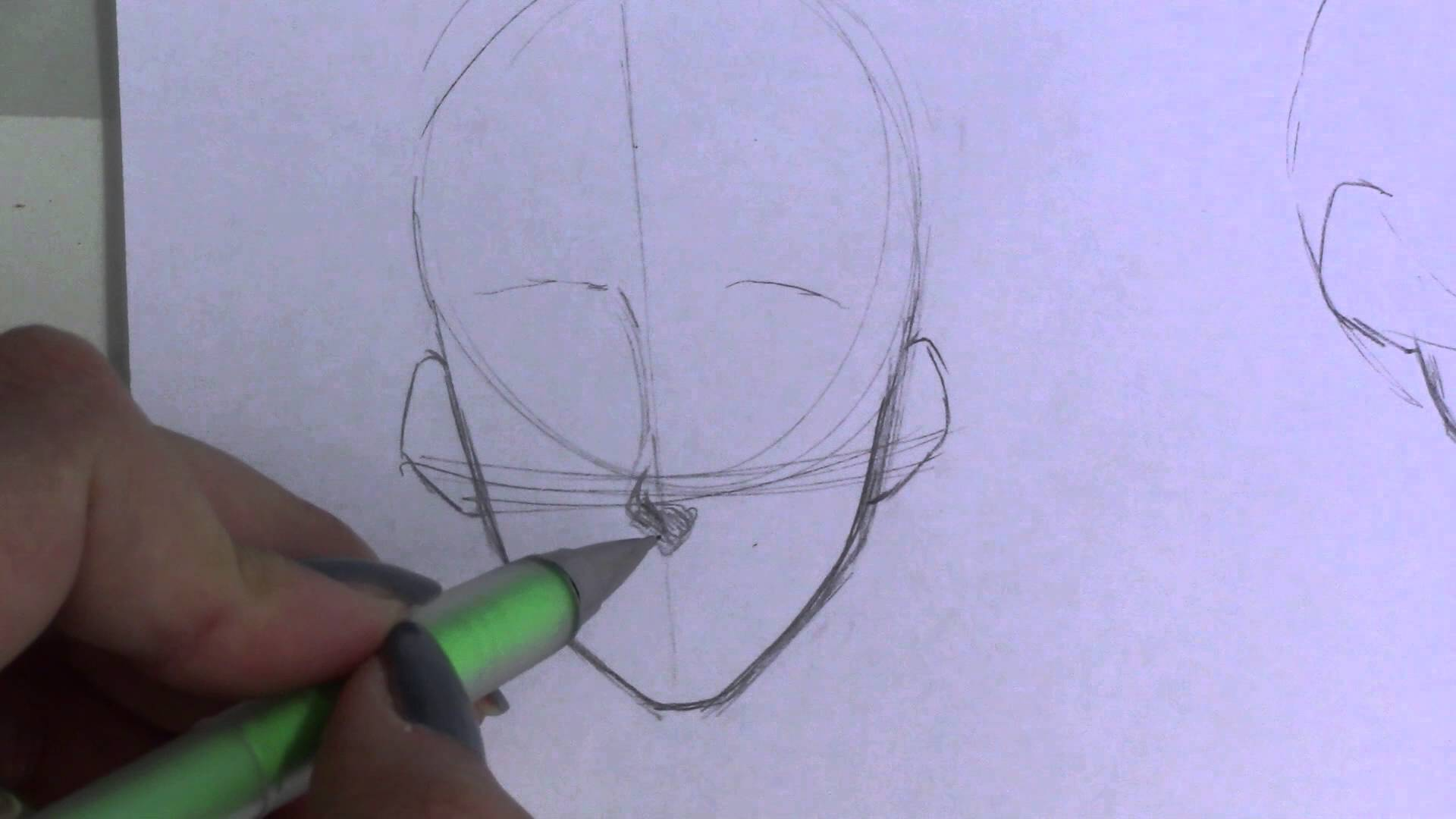 1920x1080 Mini Tutorial How To Draw Noses! (Mangaanime)