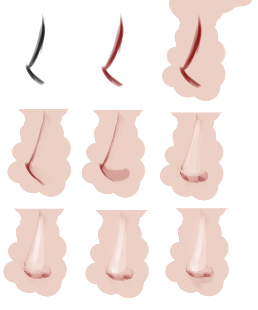 1024x1229 Nose Tutorial By Saige199