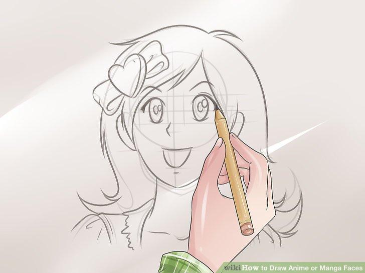728x546 3 ways to draw anime or manga faces