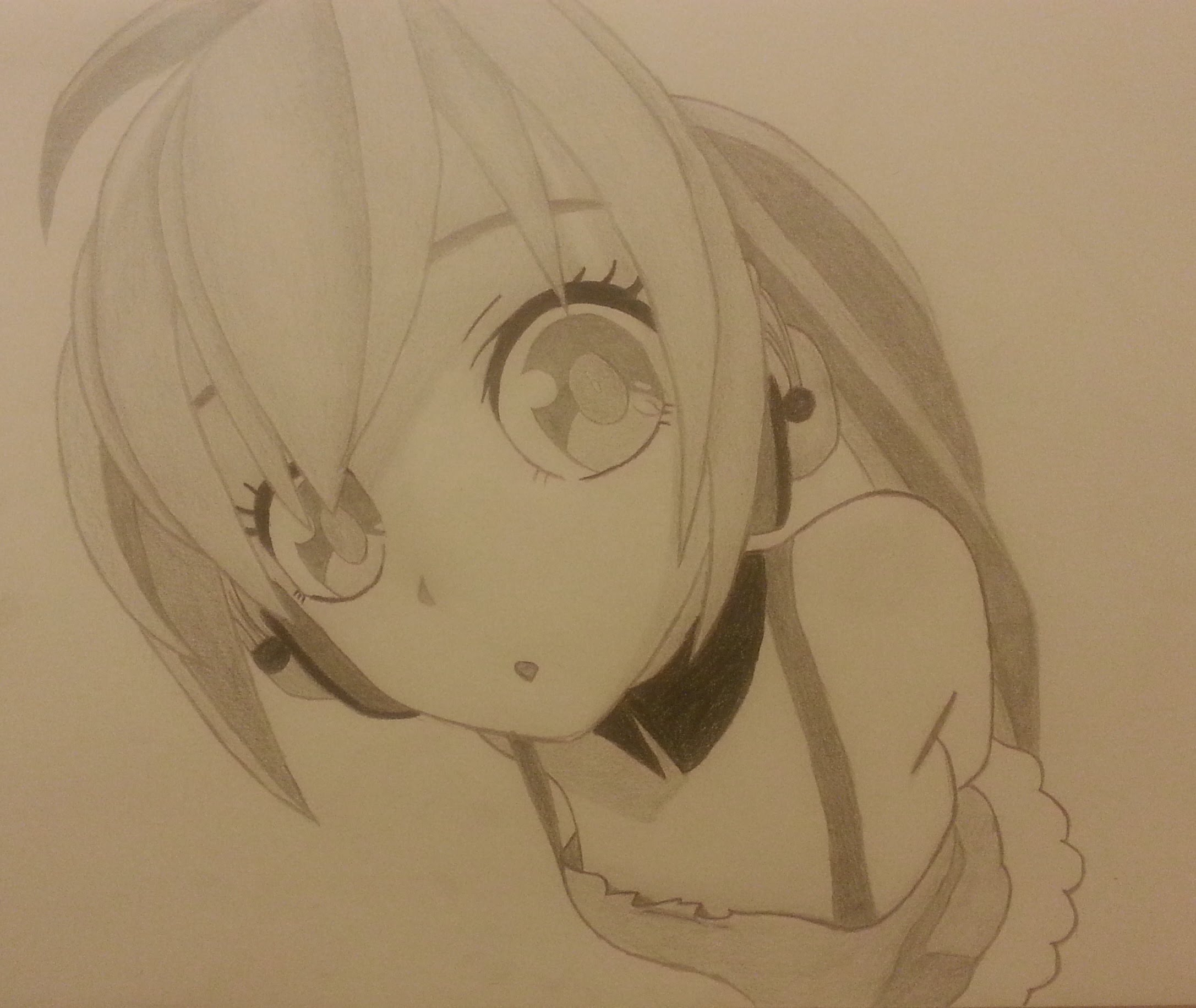 Anime Girl With Headphones Drawing Easy Anime Collection
