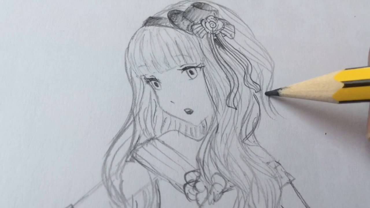 1280x720 How To Draw A Princess Anime Girl!