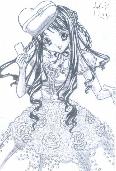 489x720 Love's To Draw By Murder Princess