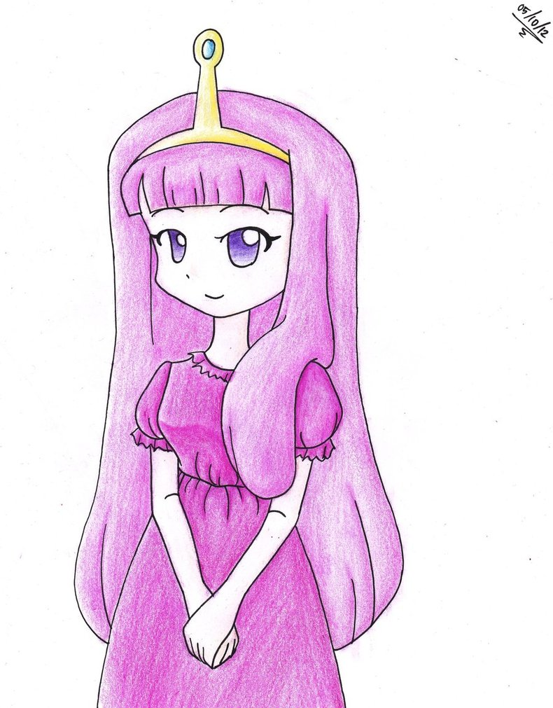 790x1011 Princess Bubblegum In Anime Version By 0chen