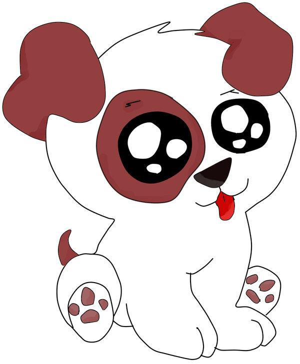 Amazing Tiny Anime Adorable Dog - anime-puppy-drawing-54  2018_921242  .jpg