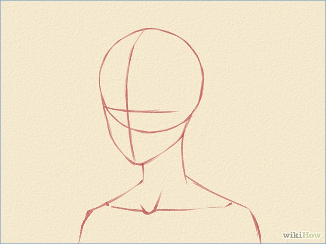 670x503 Anime Head Template