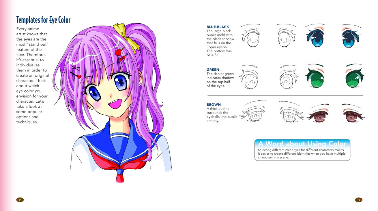 1310x734 The Master Guide To Drawing Anime How To Draw Original Characters