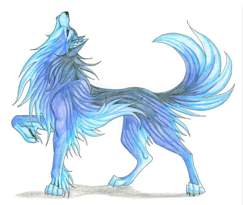 Anime Wolves Drawing at GetDrawings.com | Free for personal use ...