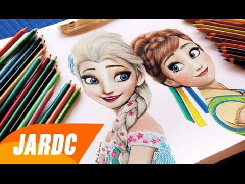 480x360 Drawing Elsa And Anna (Frozen Fever)