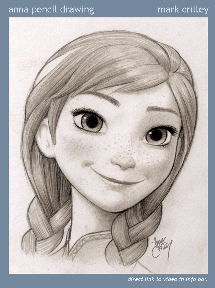 743x993 Anna Pencil Drawing By Markcrilley