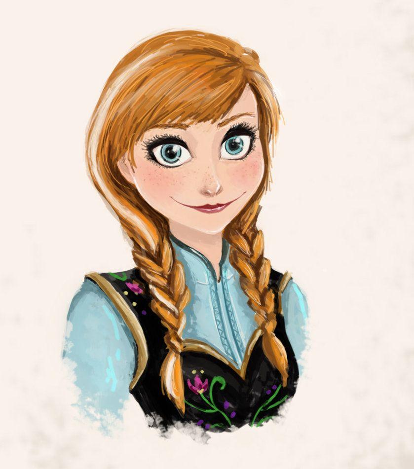 839x951 Anna From Frozen Fan Art Anna [Frozen] By Chetom