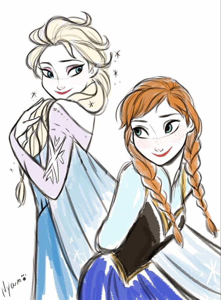 756x1024 On Elsa, Fanart And Disney Frozen