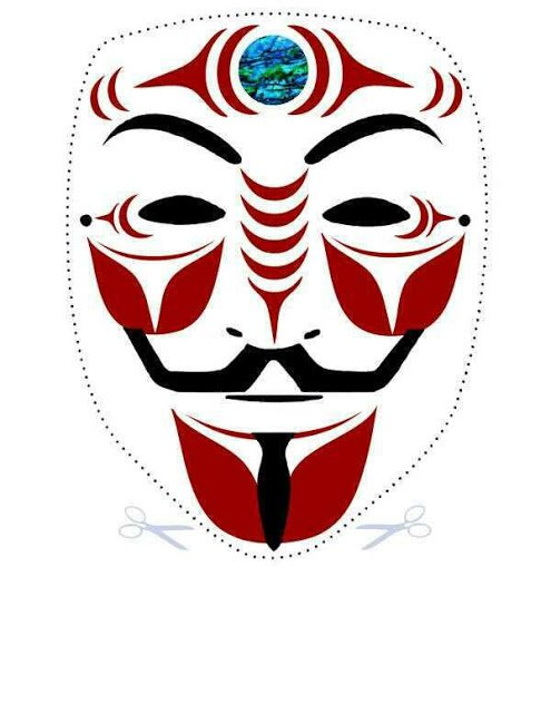 495x640 The Best Guy Fawkes Masks In Anonymous History