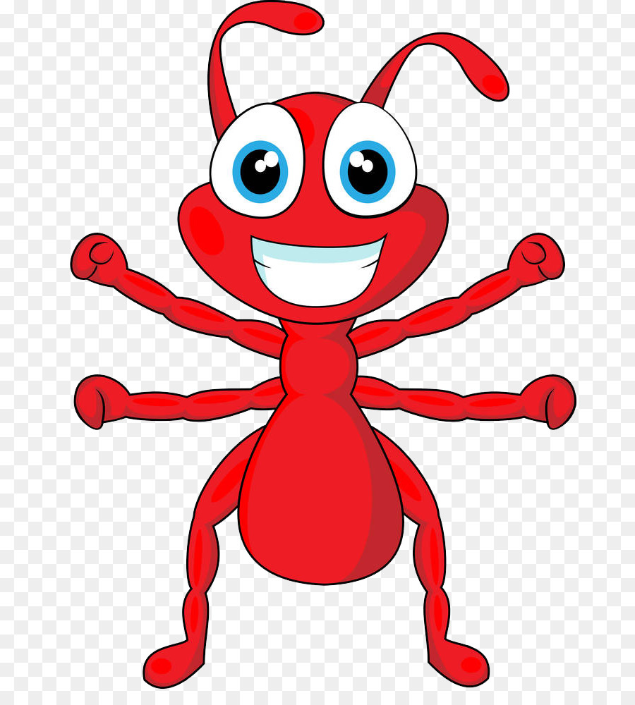how to draw an ant easy