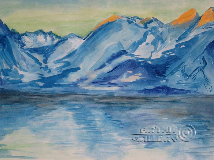 700x525 Landscape Paintings. Landscapes. Impressions Of Antarctica