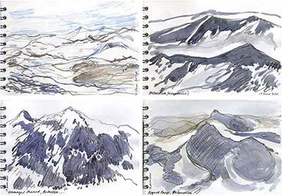400x278 Cold Comfort [In Twenty Five Drawings] Jazz Green Artist Journal