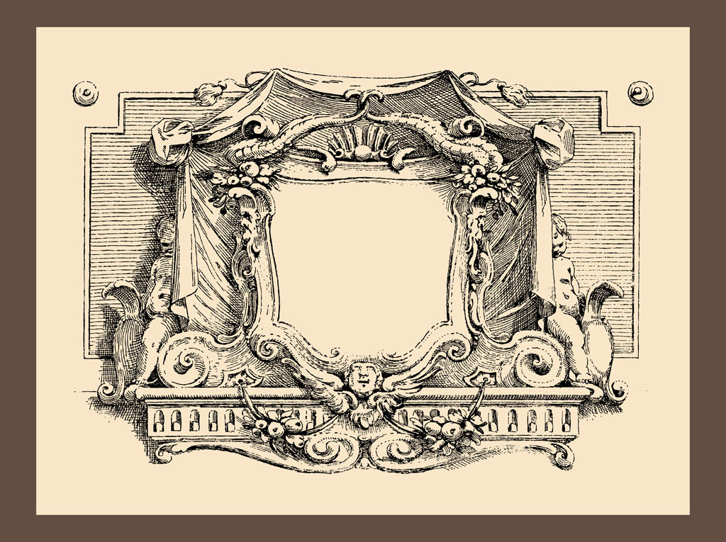 1024x765 Vintage Frame Graphics Vector Art Amp Graphics