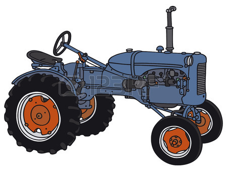 450x338 Old Tractor Stock Photos. Royalty Free Business Images