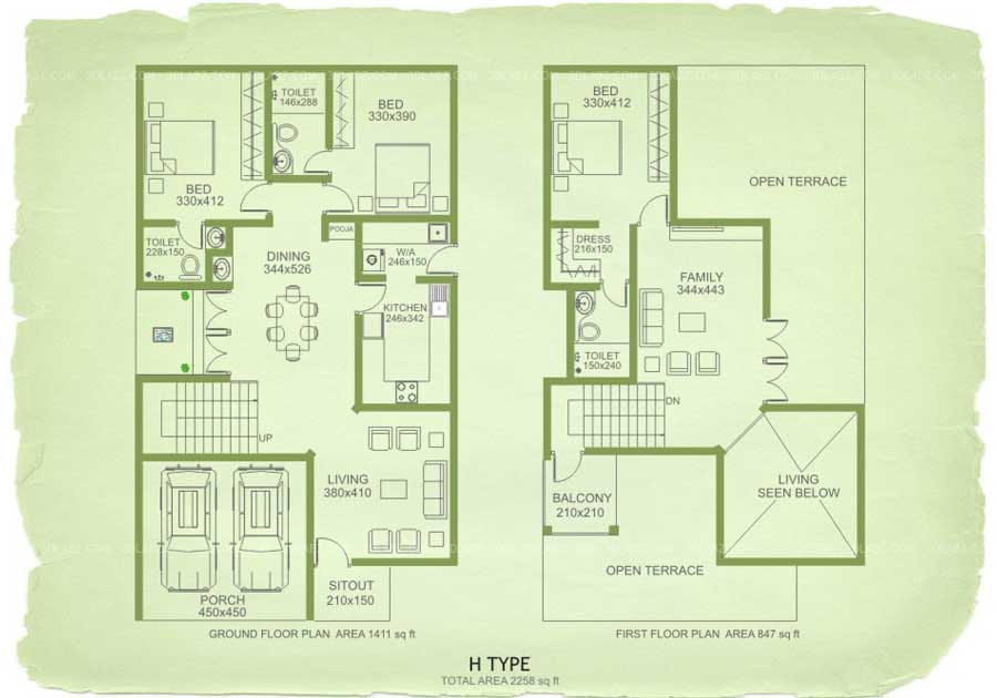900x630 2D Floor Plan Design And Drawing Designer