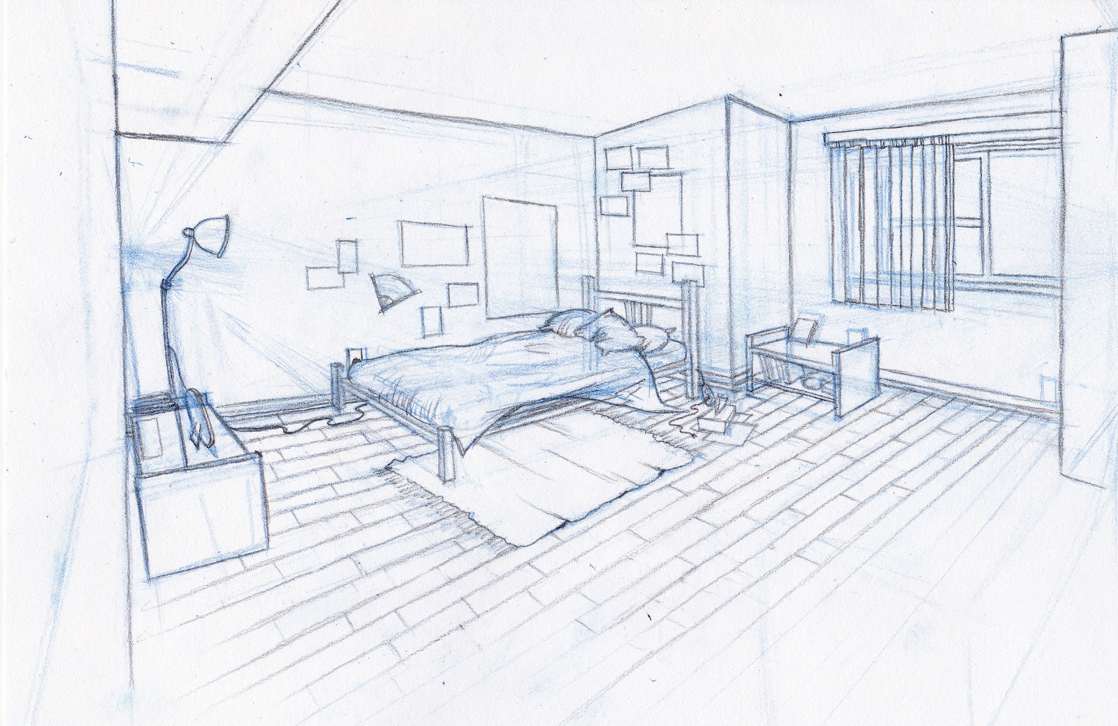 1600x1039 Sarah Kujubu Research Drawing Bedroom