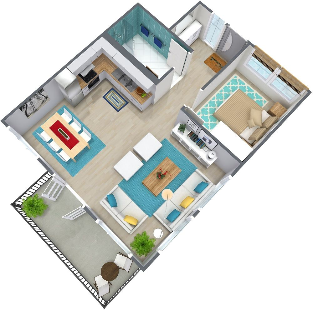 1000x992 And Floor Plans Quickly Easily Simply Draw Your Plan Garage