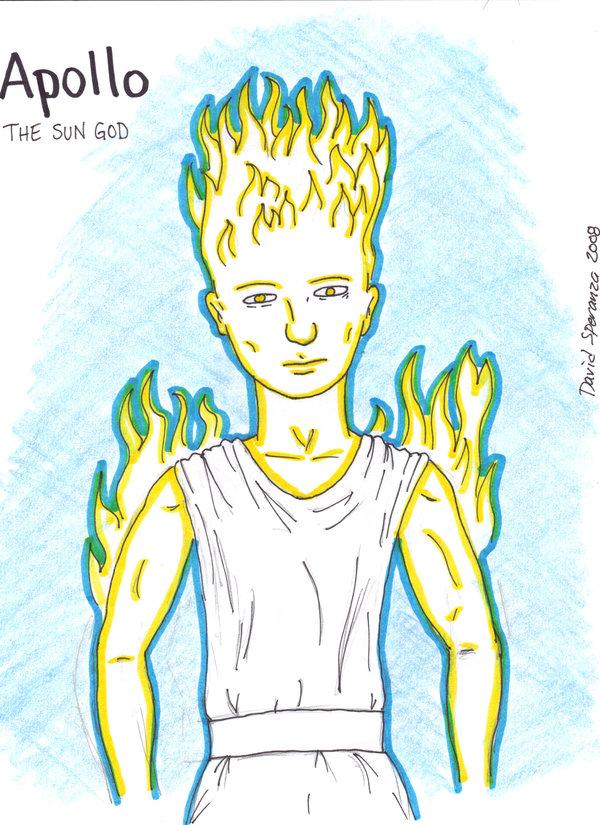 600x825 Apollo, The Sun God By Backerman