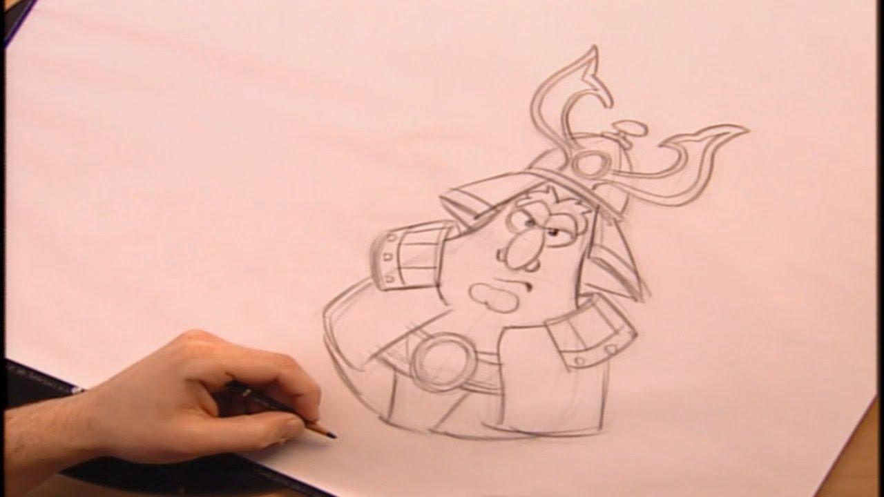 1280x720 Veggietales How To Draw Apollo Gourd