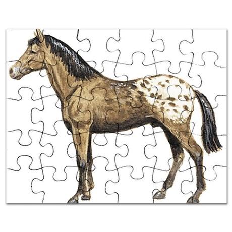 460x460 Appaloosa Horse Drawing Puzzles, Appaloosa Horse Drawing Jigsaw