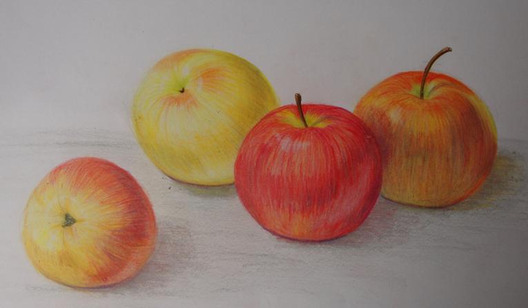 765x446 Apple Drawing 2 By Digitaldreams Art