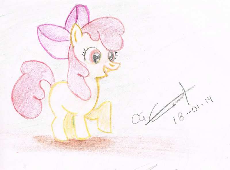 800x591 Apple Bloom Drawing By Final20