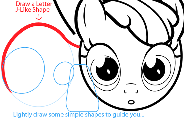 600x384 How To Draw Apple Bloom From My Little Pony With Easy Step By Step