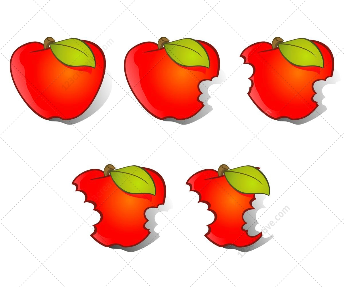 1200x1000 Apple Vector And Bitten Apple Vectors