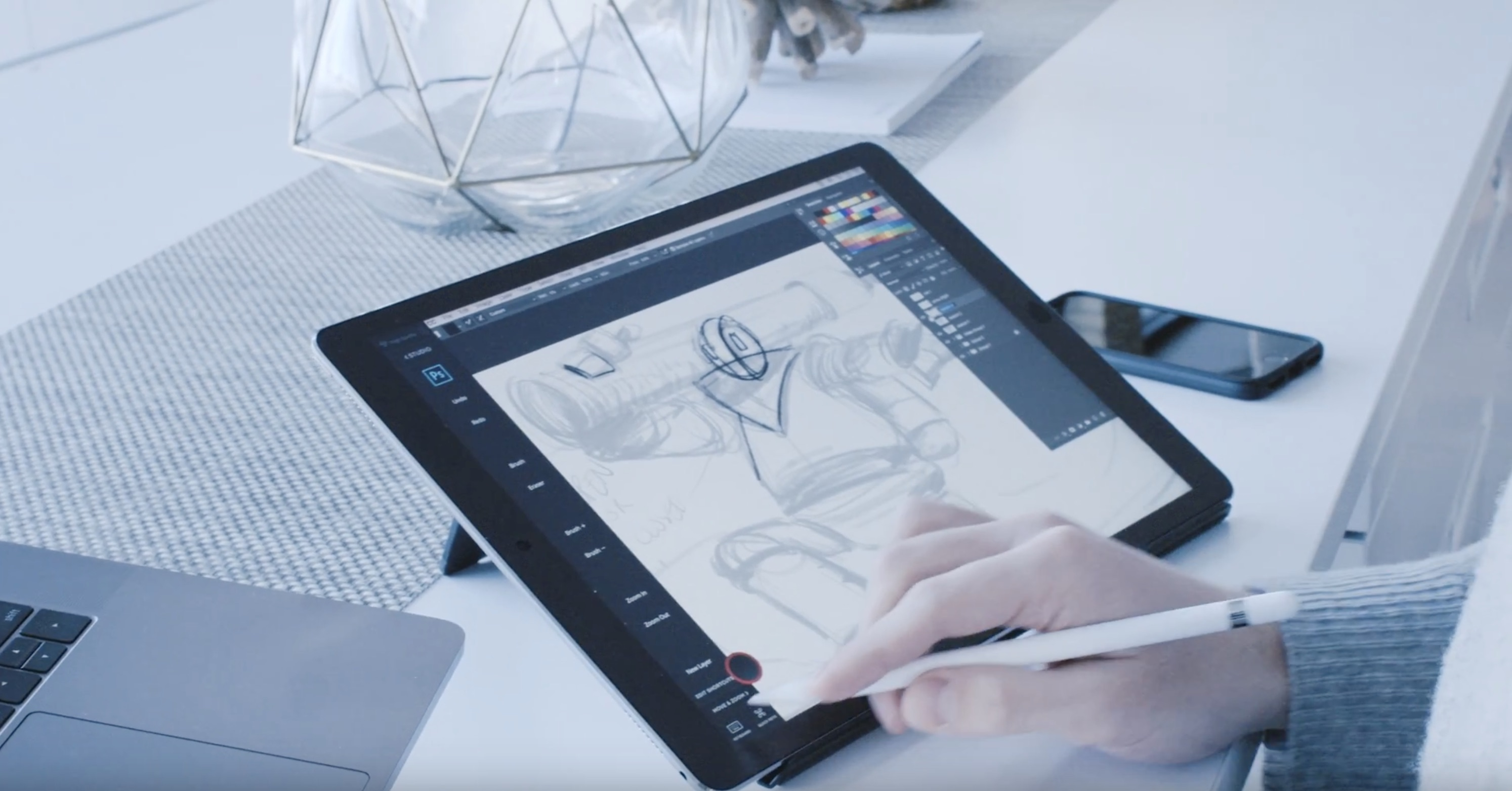 2988x1562 The Best Ios Apps For Drawing With Apple Pencil + Ipad Pro 9to5mac