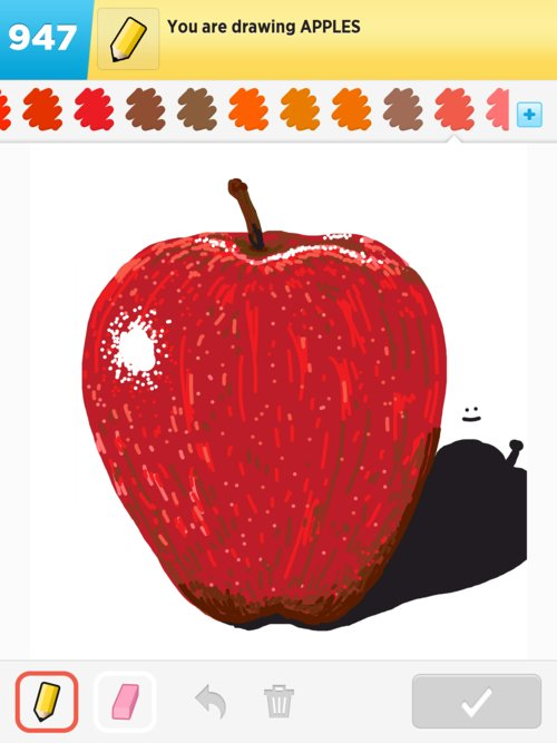 500x667 Apple Drawings