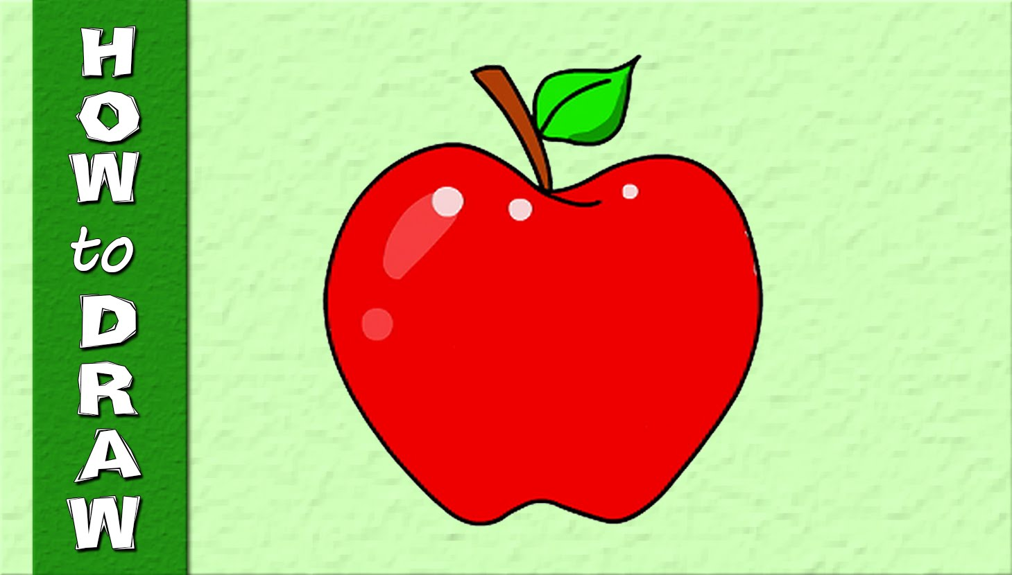 Apple Drawing For Kids at GetDrawings.com | Free for personal use ...