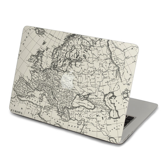 570x570 Macbook decal laptop macbook retina 15 sticker map by youyoudecal