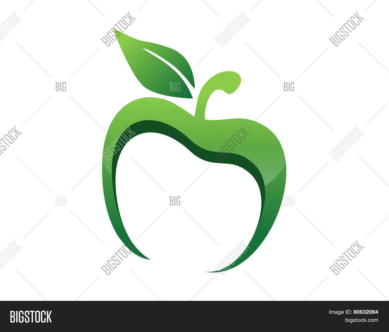 1500x1279 Apple Logo App Nutrition Health Vector Amp Photo Bigstock